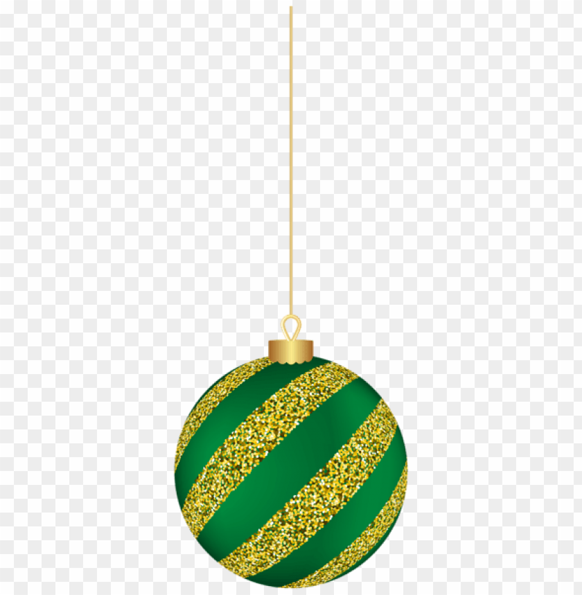 Christmas Hanging Ball Green Png Free Png Images Toppng