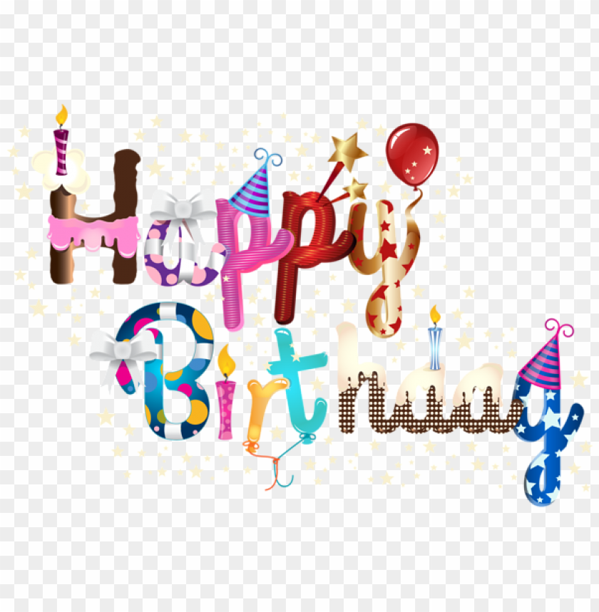 Free PNG Happy Birthday Images Transparent