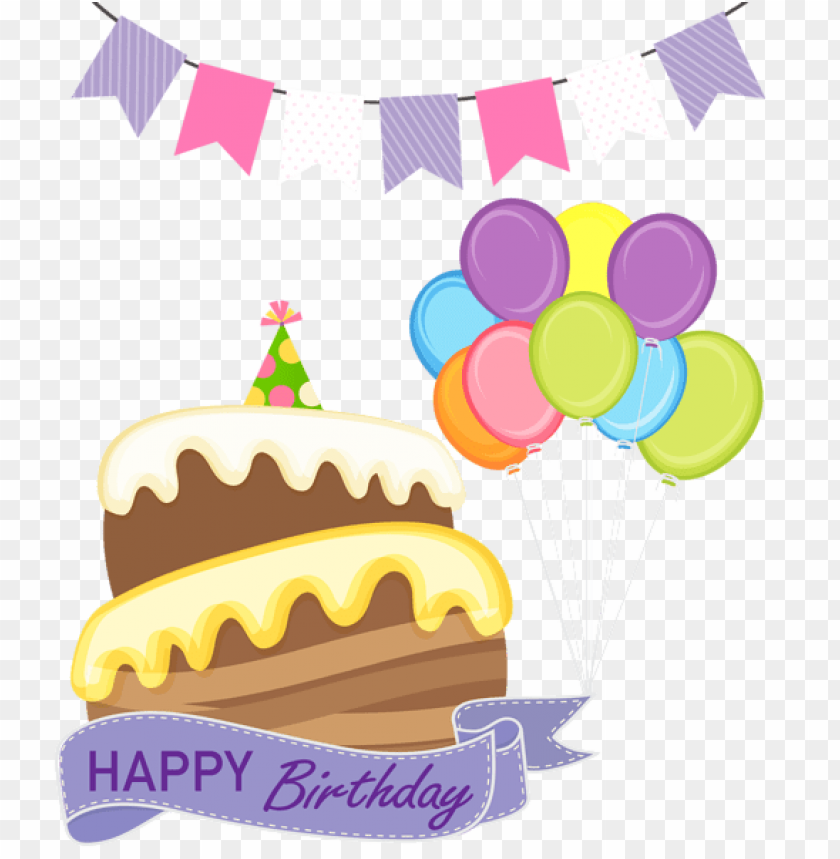 Free PNG Happy Birthday Cake Images Transparent