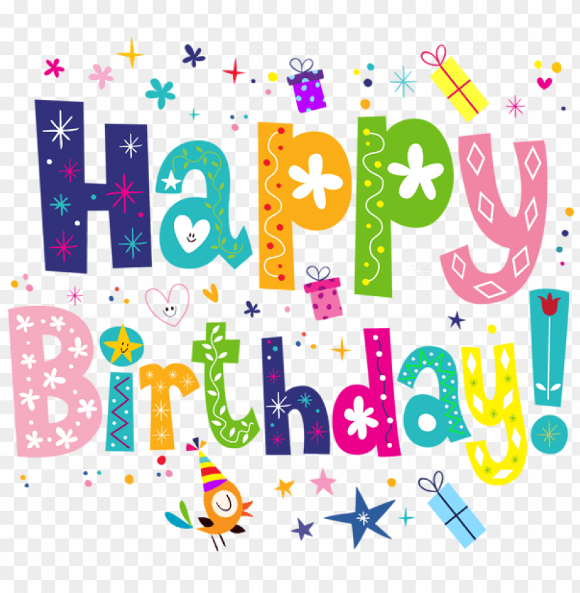 Free PNG Happy Birthday Cute Images Transparent