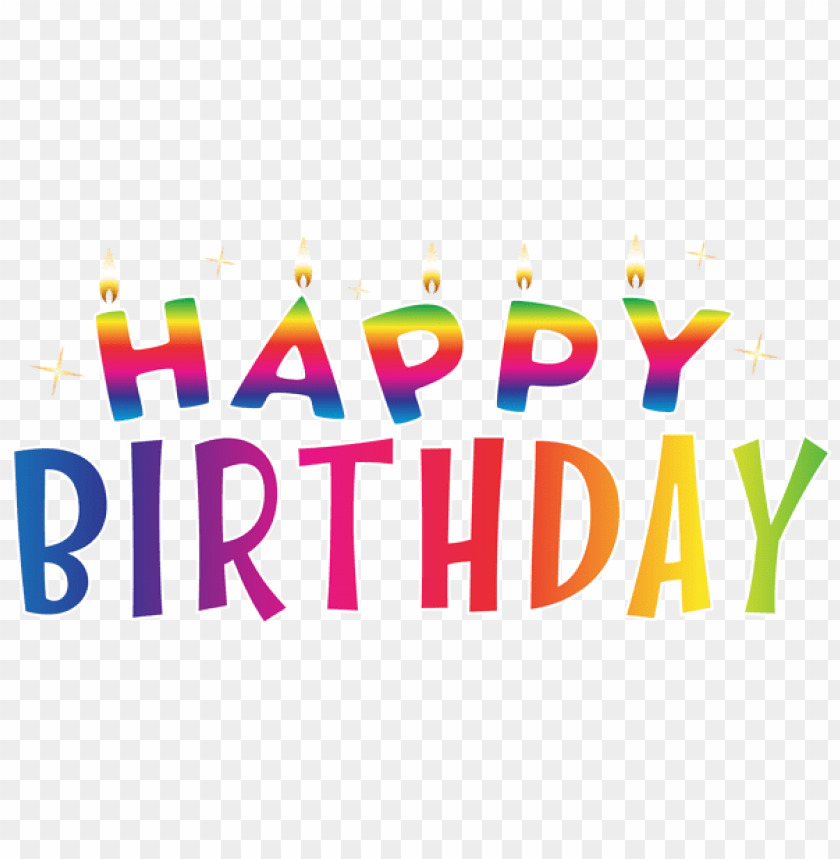 Free PNG Happy Birthday Deco Png Images Transparent