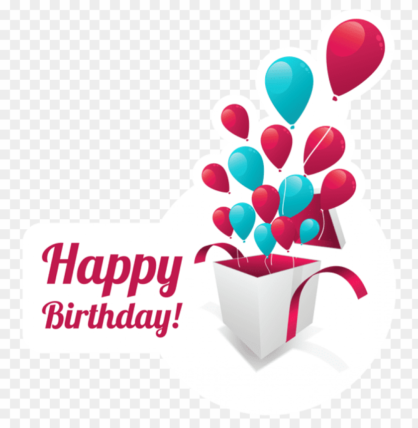 Happy Birthday Text Stickerpicture Png Free Png Images Toppng