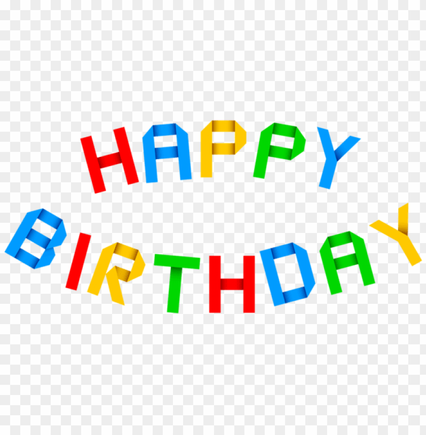 Free PNG Happy Birthday Transparent Images