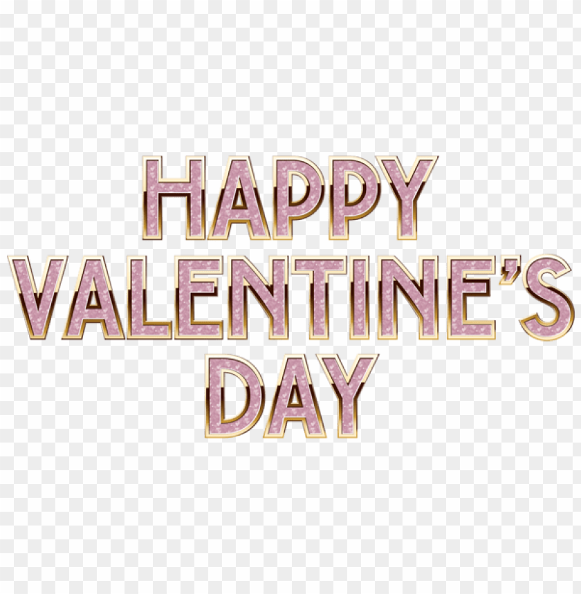 Happy Valentine S Day Deco Text Png Free Png Images Toppng